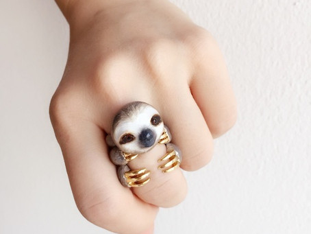 Animal Hugging Rings