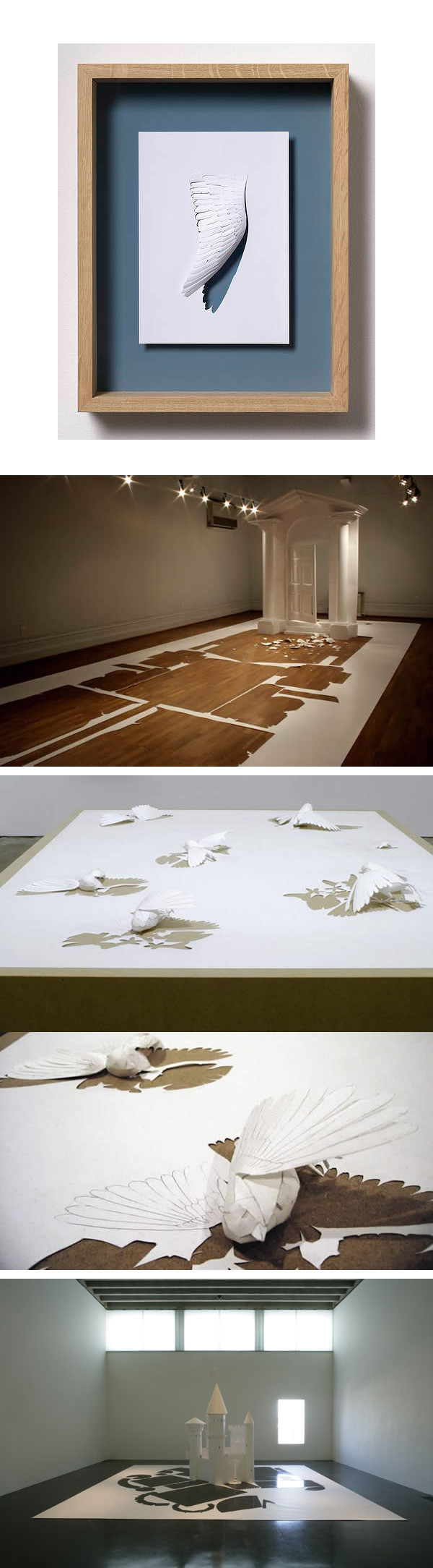 Peter Callesen's amazing works