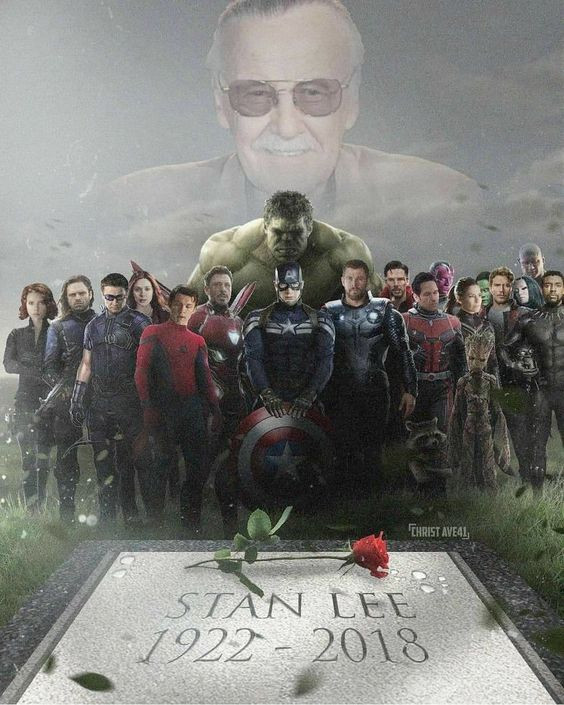 Well done photoshop for RIP Stan Lee