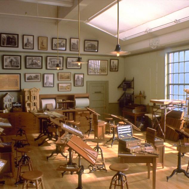 Architect's Classroom, circa 1900