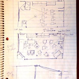 Architect's Classroom, floor plan, 1989