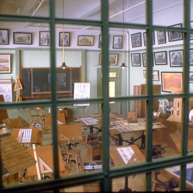 Architect's Classroom, through the window