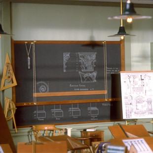 Architect's Classroom, blackboard