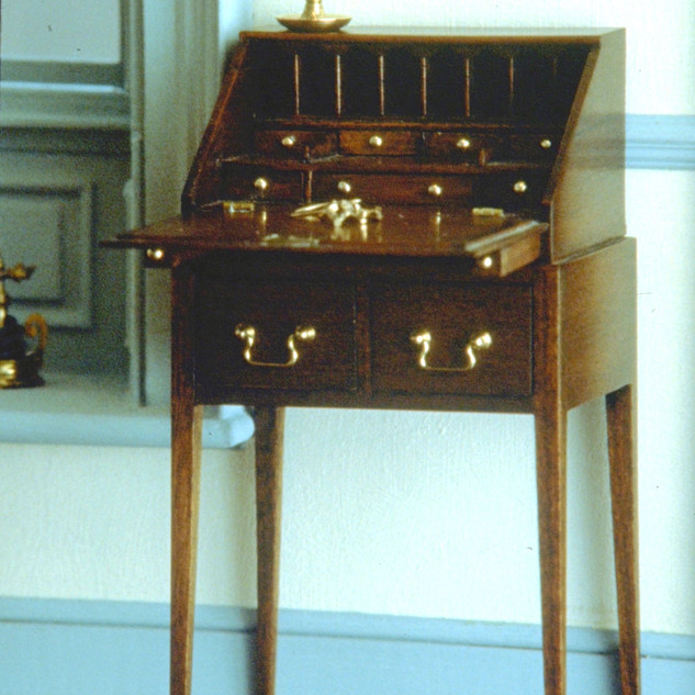 Lady's desk, 1977, in Twin Manors