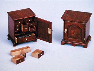 Spice Cabinet, with secret compartments,