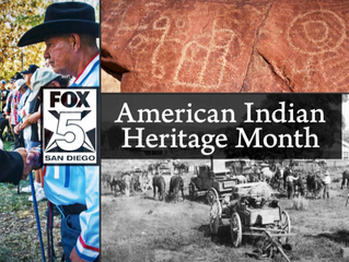 FOX 5 San Diego joins with in paying tribute to the rich ancestry and traditions of American Indians