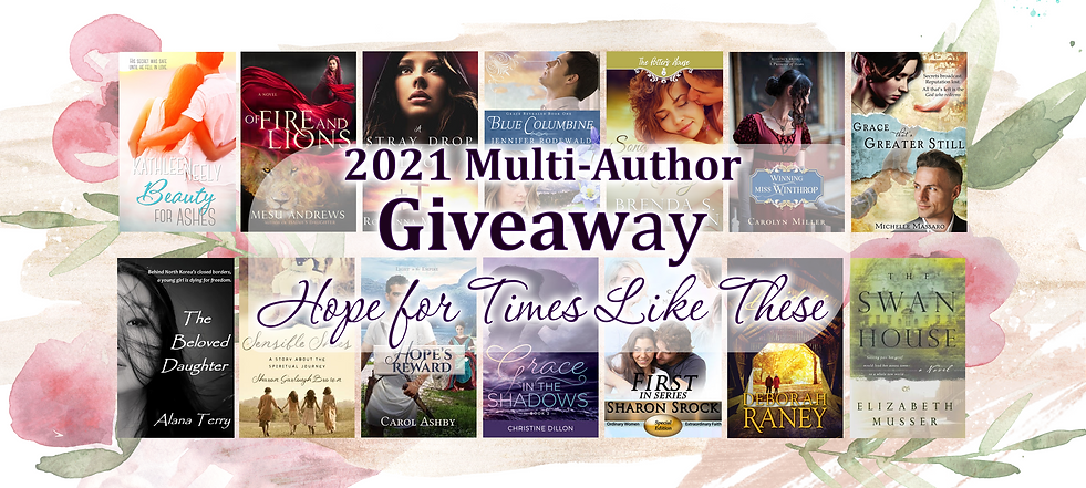 Multiauthor Giveaway banner 2021
