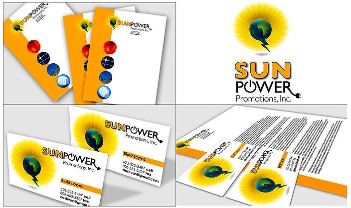 Sun Power Promotions logo - Design: Catia Keck