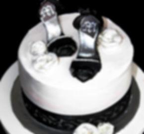 BLACK SHOES Cake - Design: Catia Keck