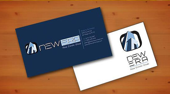 New Era Real Estate Branding - Design: Catia Keck