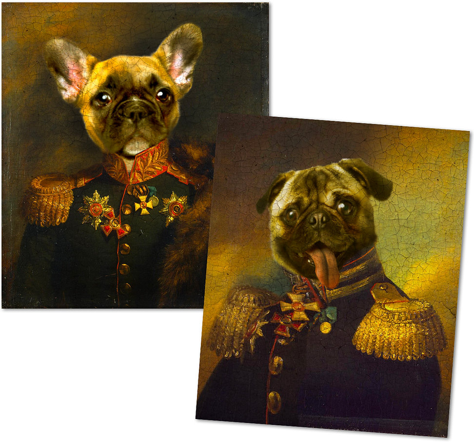 Royal Dogs Art - Design: Catia keck