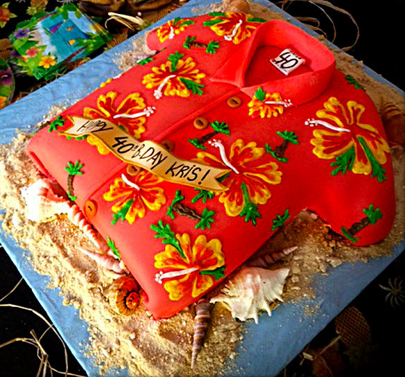 Hawaiian Shirt - Catia's Cakes Studio - Cakes and Design: Catia Keck