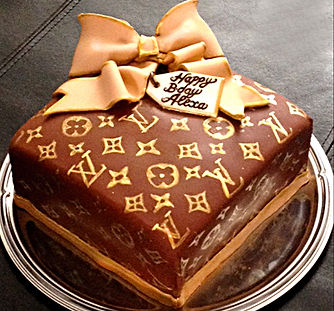 LOUIS VUITTON Cake - Catia's Cakes Studio - Cakes and Design: Catia Keck