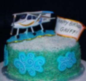 AIRPLANE Sky Cake - Design: Catia Keck