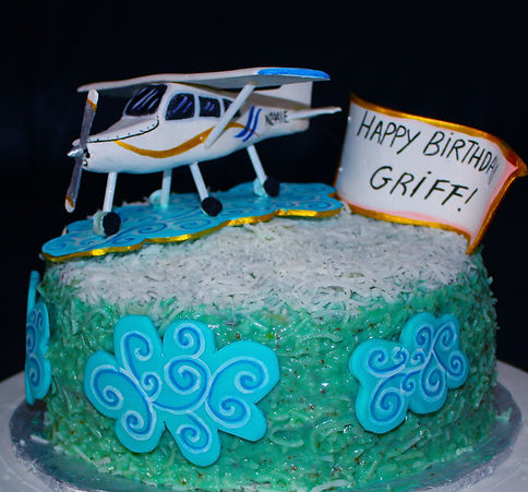 AIRPLANE Sky Cake - Design: Catia Keck