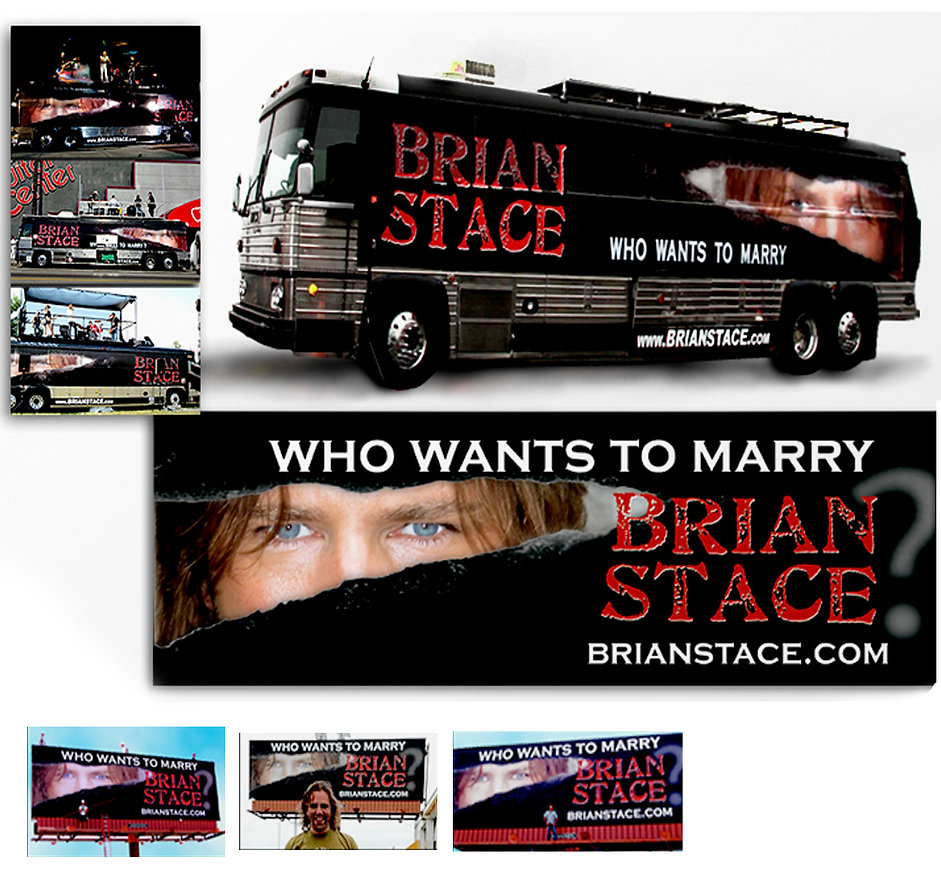Brian Stace Country Singer - Promotional Material - Design: Catia Keck