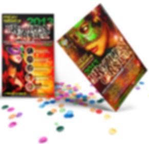 Brazilian Carnival Fliers - Design: Catia Keck