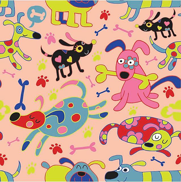 pattern_colorfulDogsFunny_Orange.jpg
