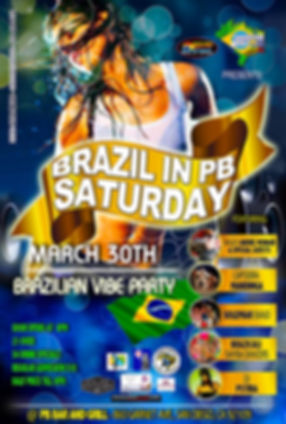 Brazilian Party in San Diego - Design: Catia Keck