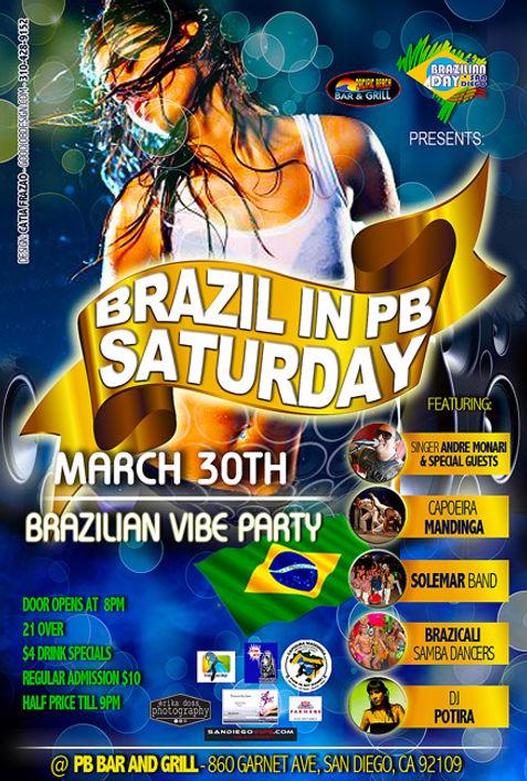 Brazilian Party in San Diego - Design: Catia Keck