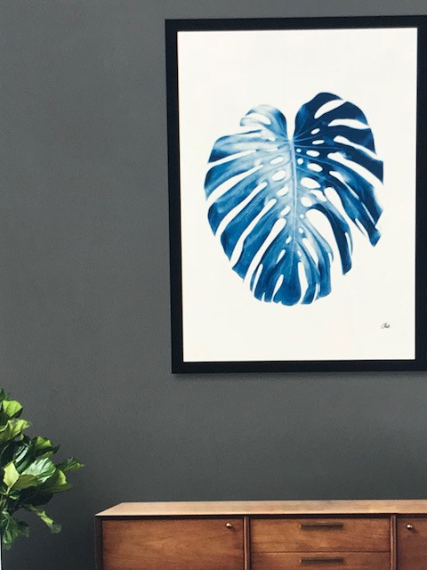 Nature Blue Palm