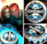 GREMIO Soccer Cake - Design: Catia Keck