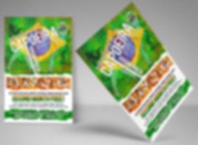 Capoeira Flyers - Brazilian Martial Art - Design: Catia Keck