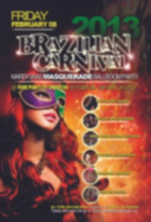 San Diego Brazilian Carnival Fliers - Design: Catia Keck