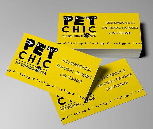 Pet Store Business Cards - Design: Catia Keck
