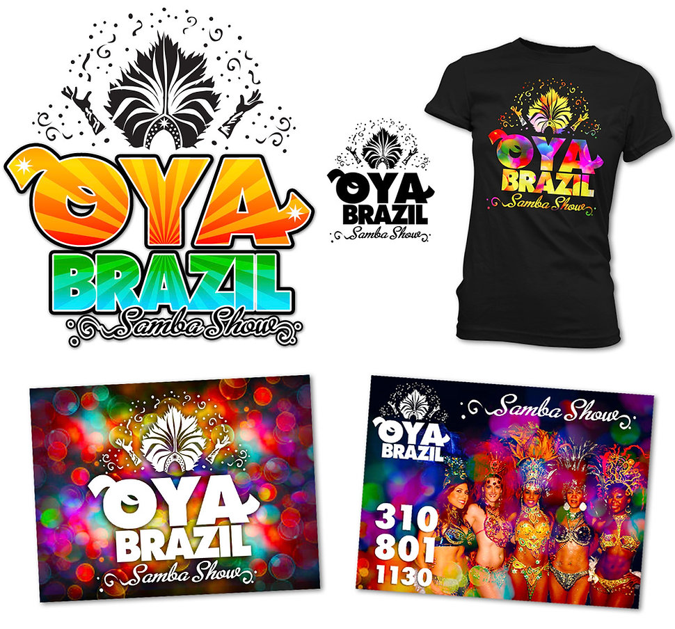 Samba Dance Group in Los Angeles OYA BRAZIL