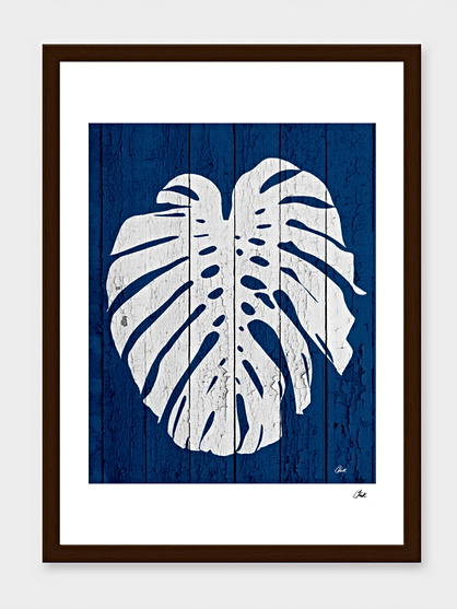 Deep Blue Palm