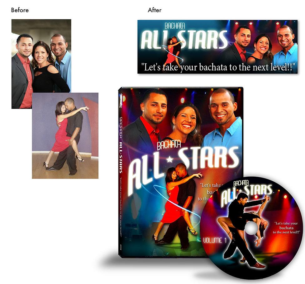 Bachata Latin Class DVD - Design: Catia Keck