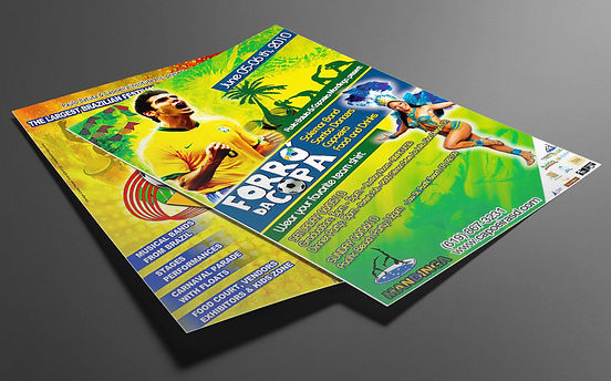 Brazilian Party - Fliers and Posters - Design: Catia Keck