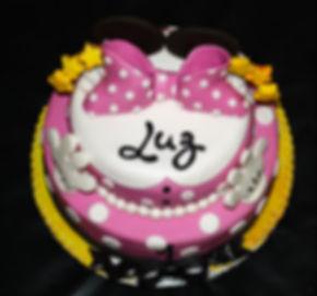MINNIE Girl Cake - Design: Catia Keck