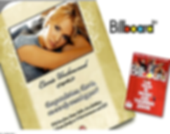 Billboard magazine Carie Underwood Ad - Design: Catia Keck