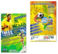World's Cup Fliers - Design: Catia Keck