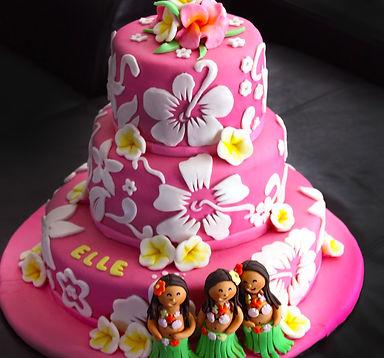 Luau - Catia's Cakes Studio - Cakes and Design: Catia Keck