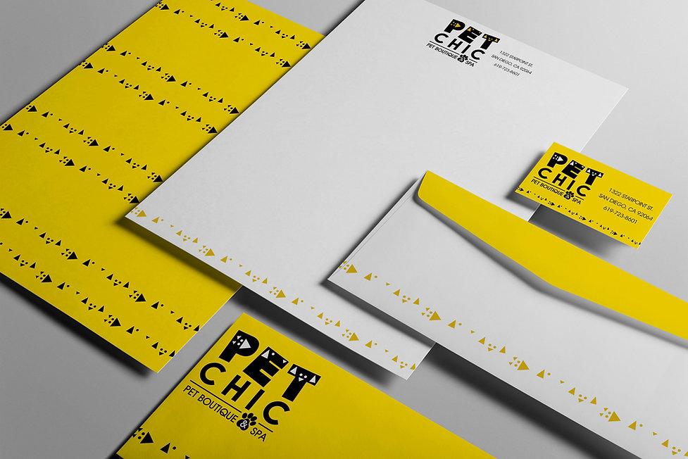 Pet Store Logo and Stationary - Design: Catia Keck