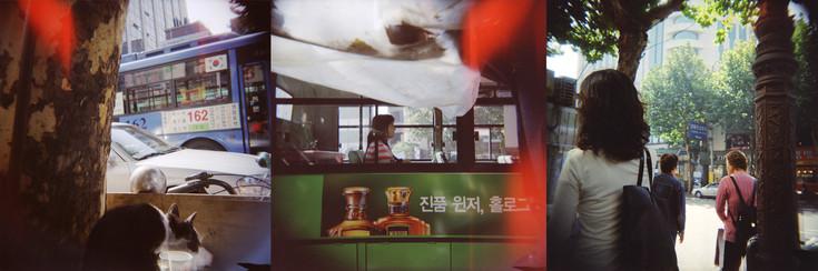 The image of mundane scenes digital silver print 90*30cm 2005
