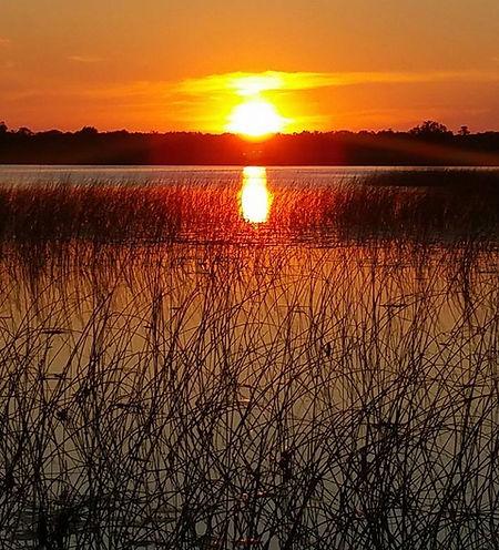 White Clay Lake Sunset