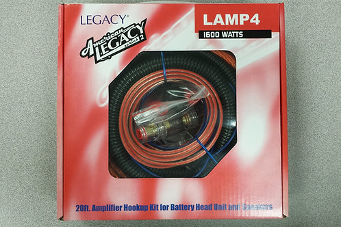 American Legacy 4 Gauge Amp Kit
