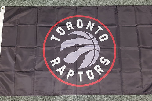 Toronto Raptors Flag - 5' X 3' Large