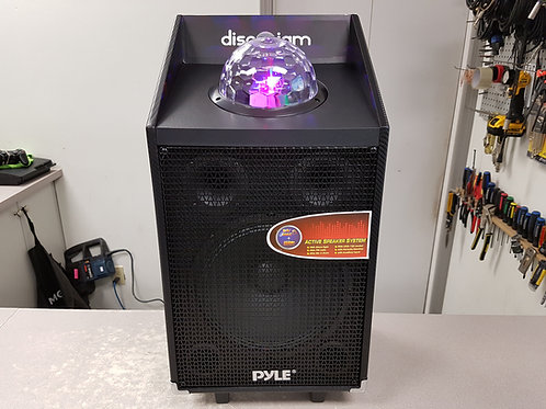 Pyle Wireless Karaoke Speaker & Disco Light