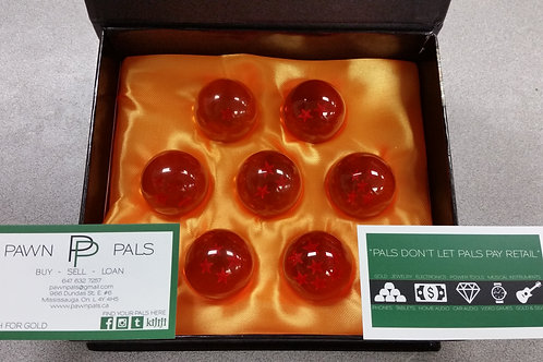 Set of 7 Crystal Dragonballs