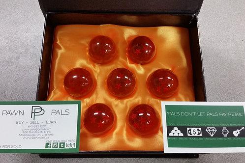 Set of 7 Crystal Dragonballs