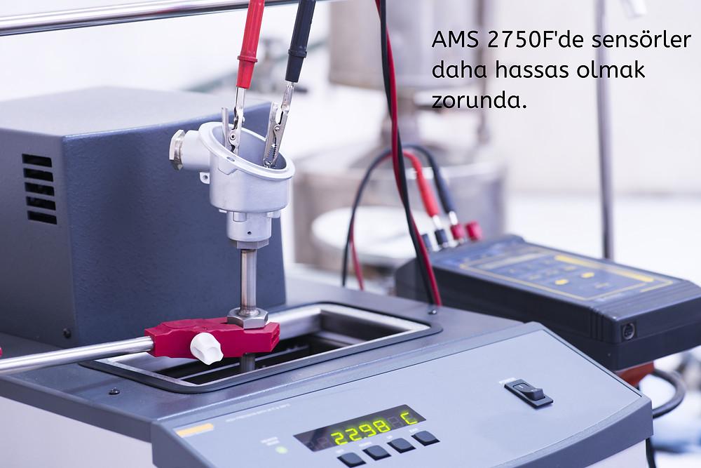 AMS 2750F'de kalibrasyon hassasiyeti daha önemli hale geldi.