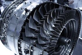 Süper alaşımlardan imal edilmiş uçak motor