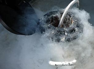 Kriyojenik işlemde parçalar eksi sıcaklıklara soğutulur.