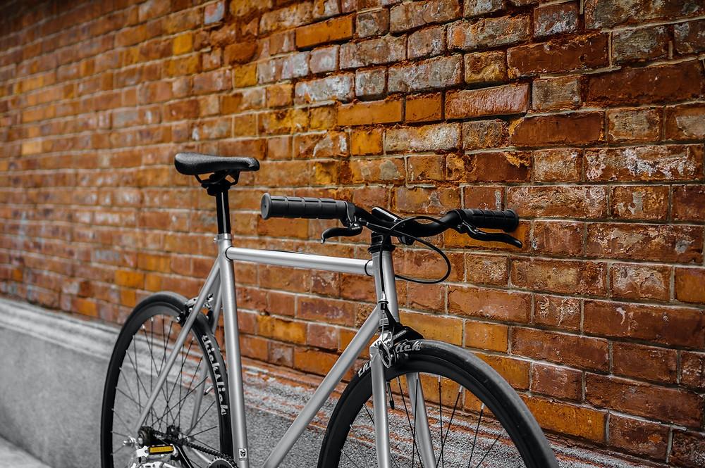 metal bisiklet kadrosu