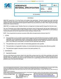 Pyrometry AMS2750F standardı. Isıl İşlemin en önemli dokümanı